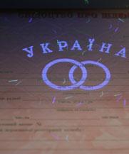 Диплом - микро ворс в УФ (Павлоград)